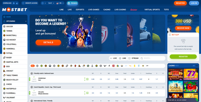 About the Mostbet company